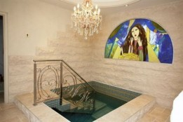 Entering the Mikvah