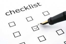 OCD Mikvah Preparation Checklist