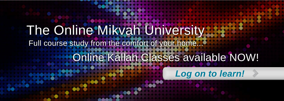 Mikvah University Kallah Classes
