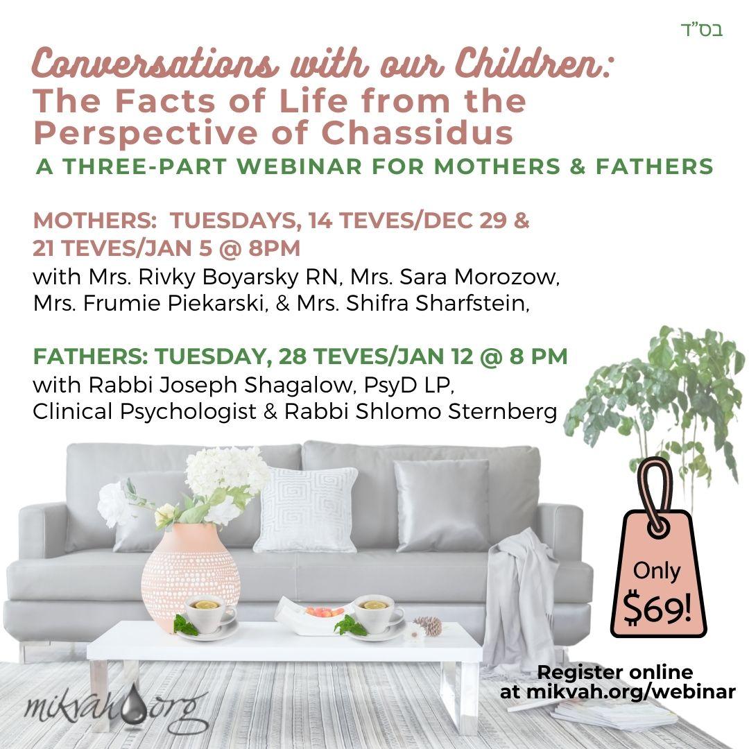 Conversations with Children Webinar
